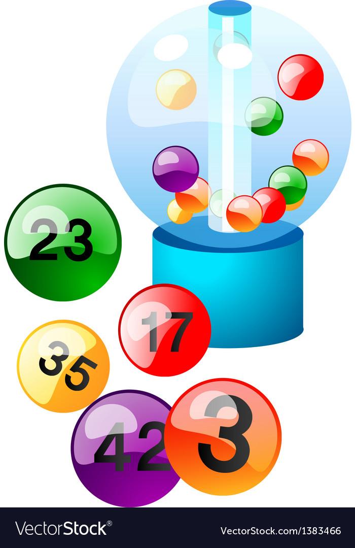 Icon lotto vector | Price: 1 Credit (USD $1)