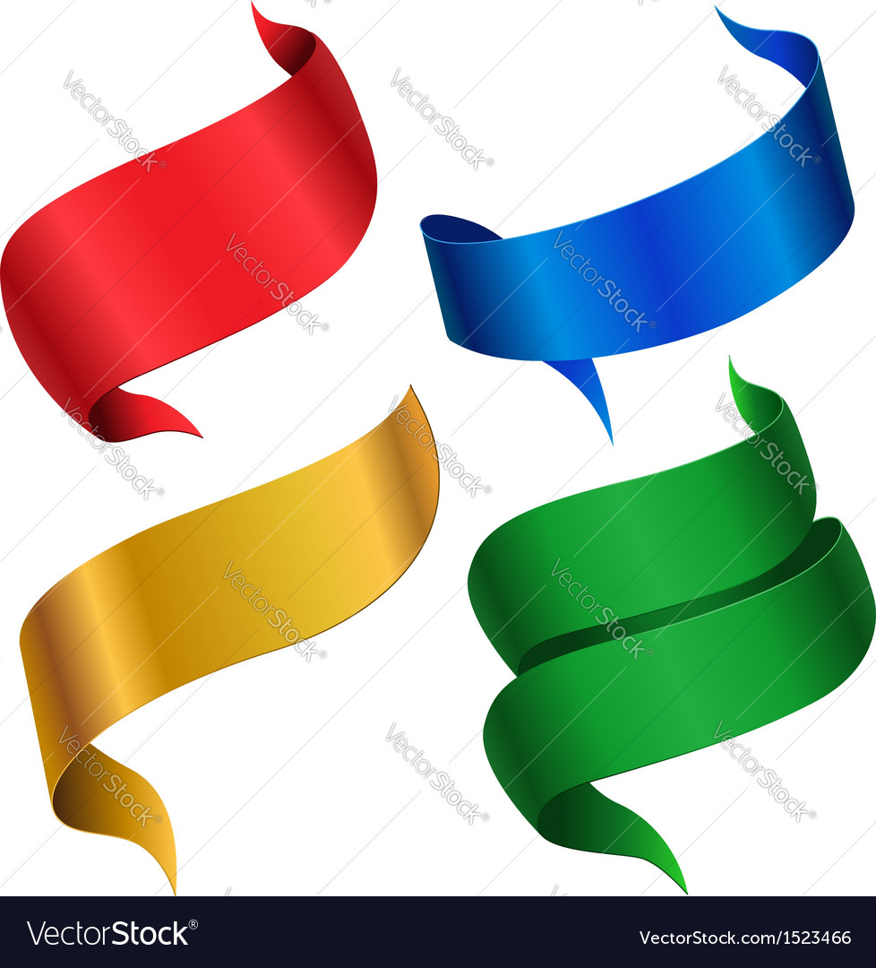 Ribbon color vector | Price: 1 Credit (USD $1)