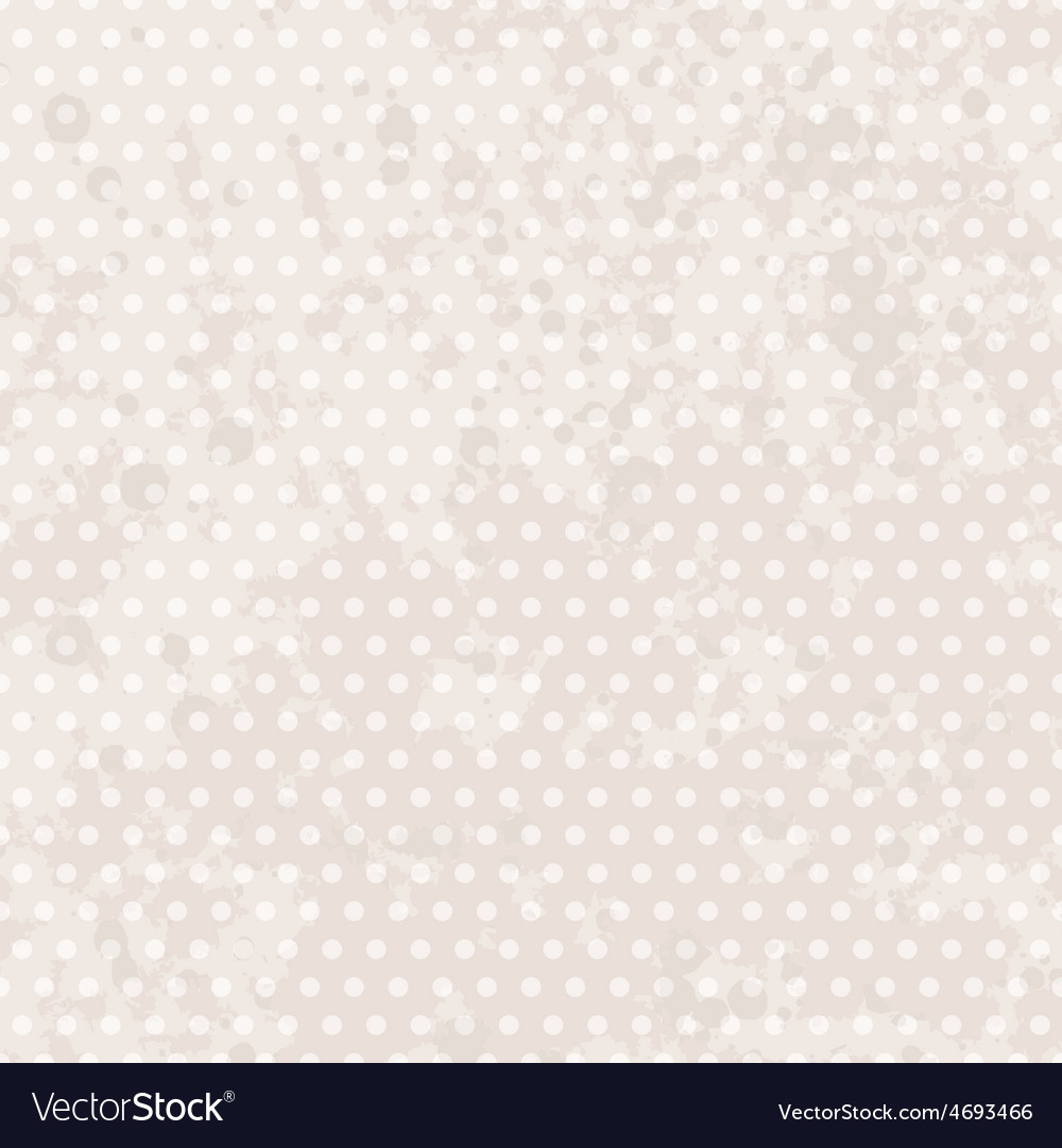 Vintage background dots pastel seamless pattern vector   Price: 1 Credit (USD $1)