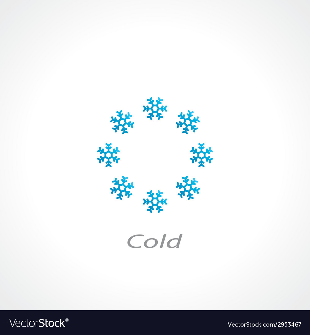 Cold symbol vector | Price: 1 Credit (USD $1)