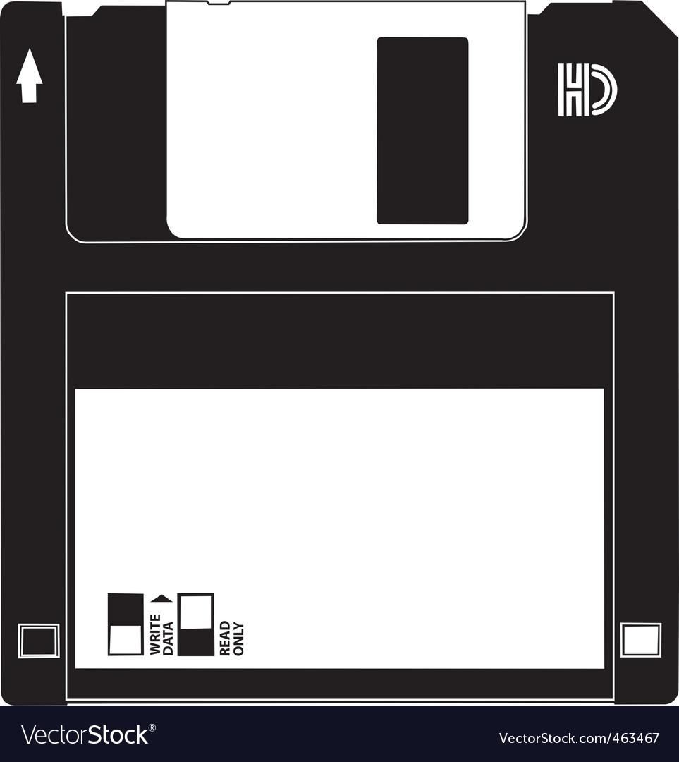 Floppy disk vector | Price: 1 Credit (USD $1)