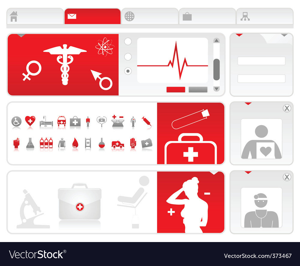 Medical site2 vector | Price: 1 Credit (USD $1)