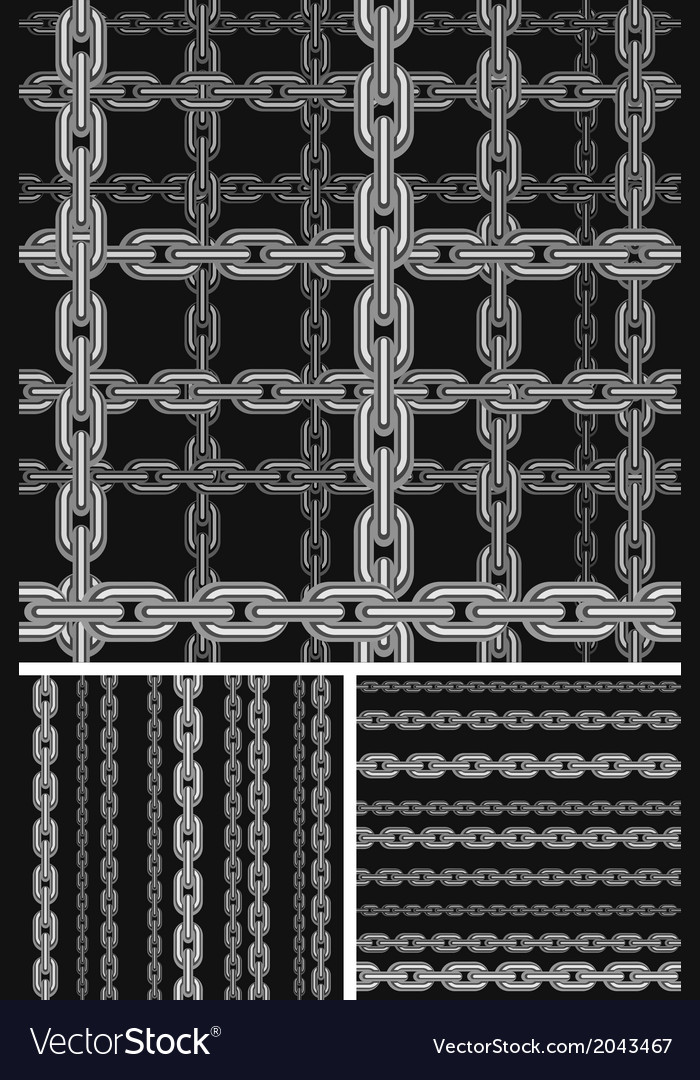 Seamless chain pattern vector | Price: 1 Credit (USD $1)