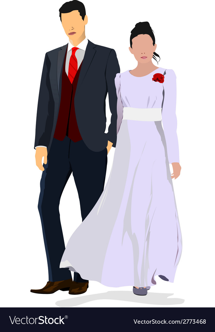 Al 0841 couple 02 vector | Price: 1 Credit (USD $1)