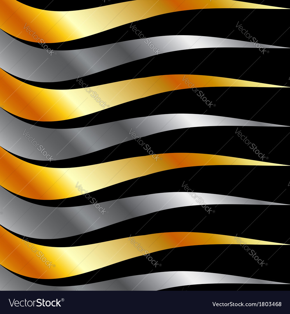High grade metal wave background vector | Price: 1 Credit (USD $1)