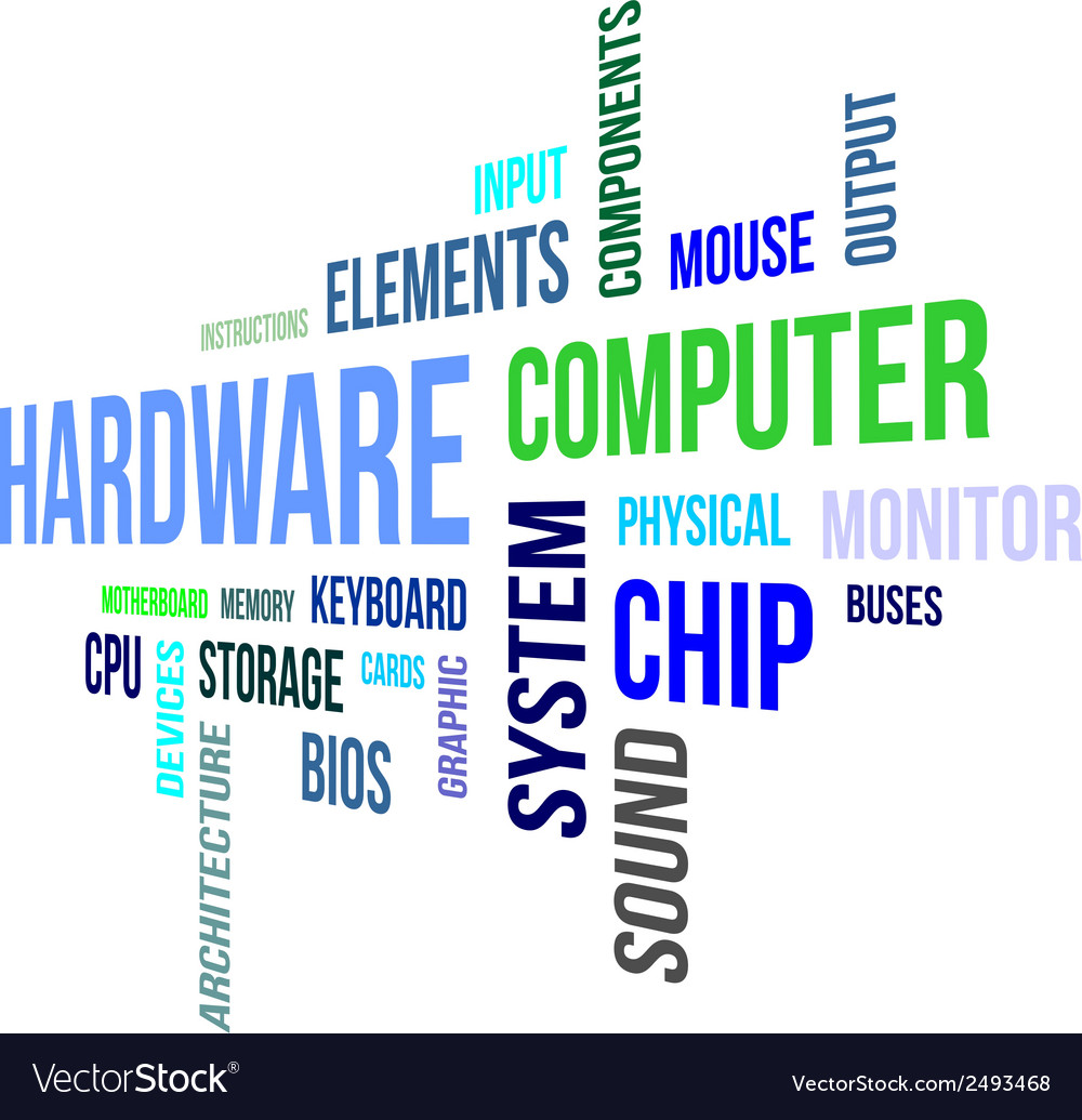 Word cloud hardware vector | Price: 1 Credit (USD $1)