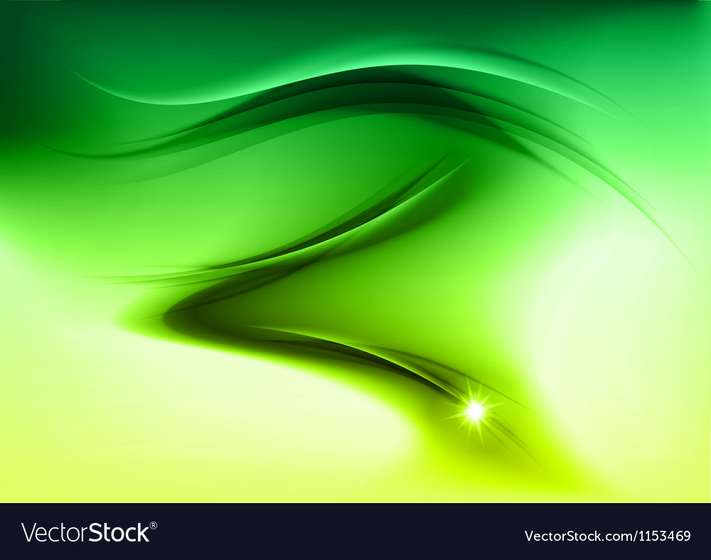 Abstract smoke green vector | Price: 1 Credit (USD $1)