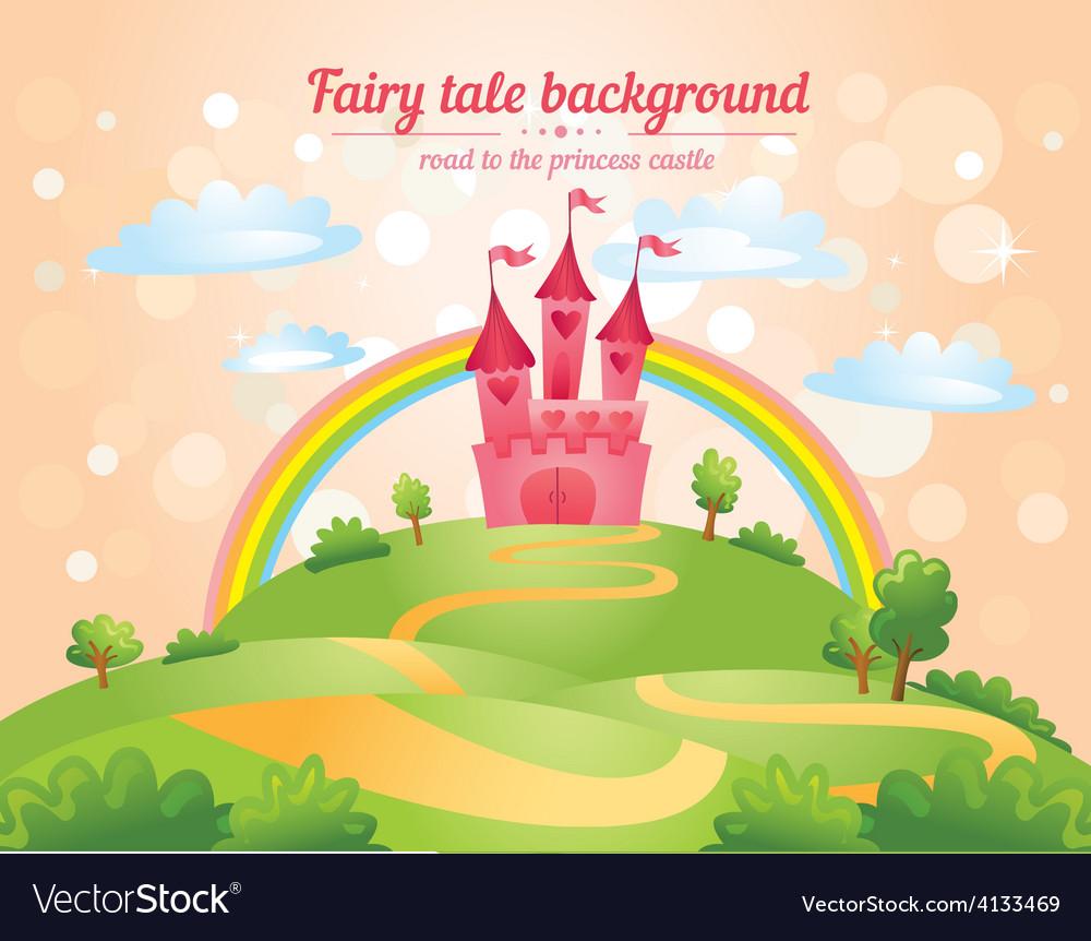 Fairy tale castle vector | Price: 3 Credit (USD $3)