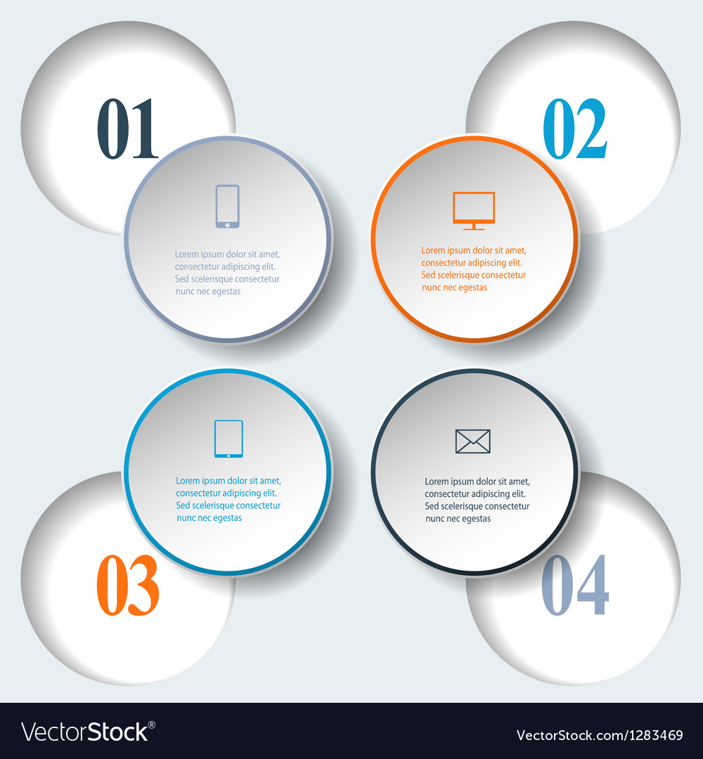 Internal and external data concept vector | Price: 1 Credit (USD $1)