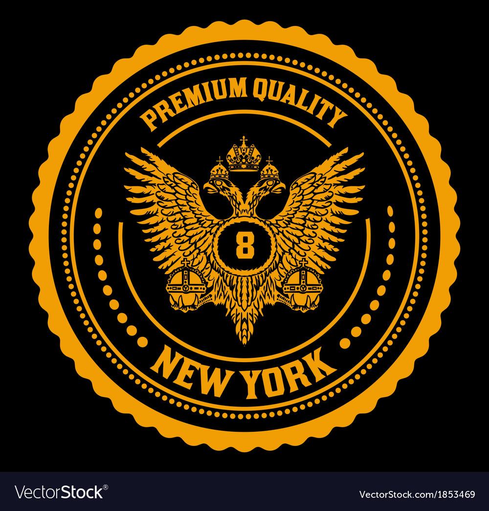 Royal emblem vector | Price: 1 Credit (USD $1)
