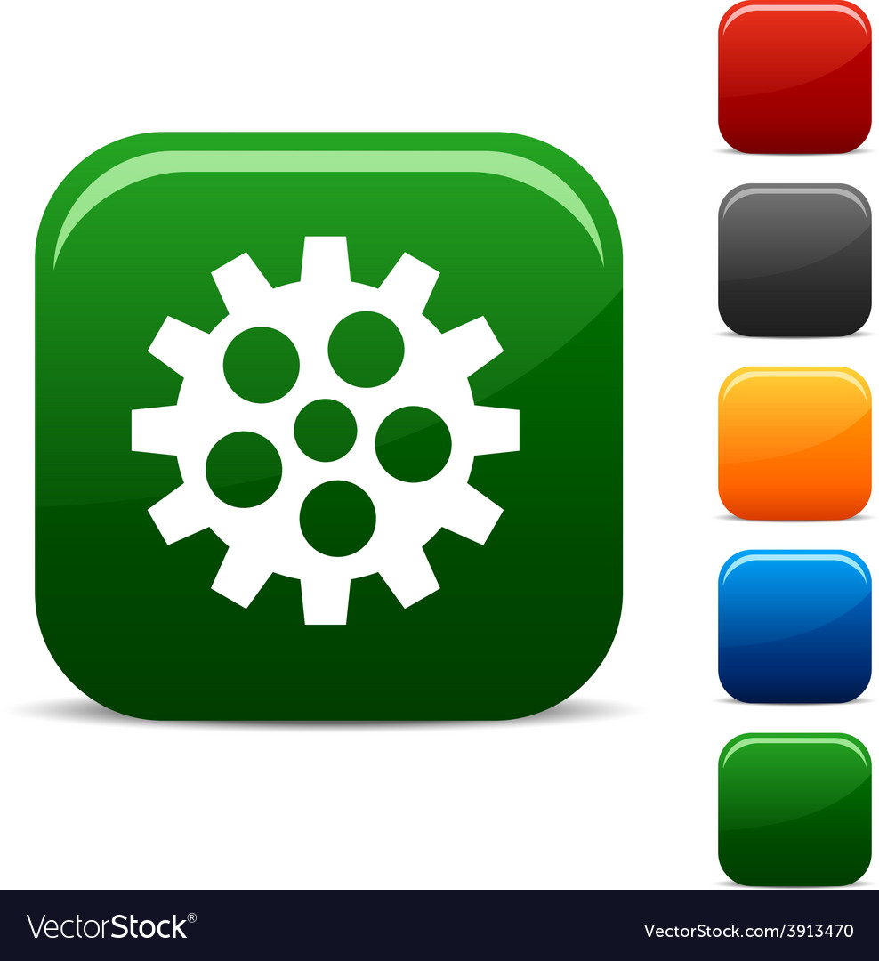 Gear icons vector | Price: 1 Credit (USD $1)
