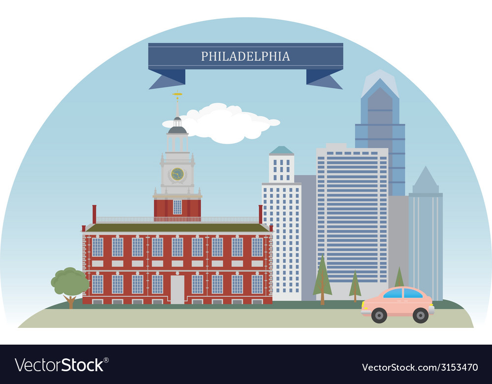 Philadelphia vector | Price: 1 Credit (USD $1)