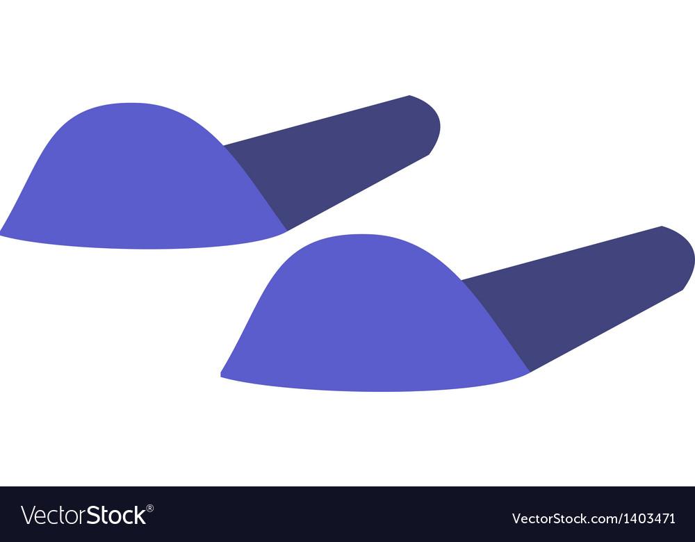 A slipper vector | Price: 1 Credit (USD $1)