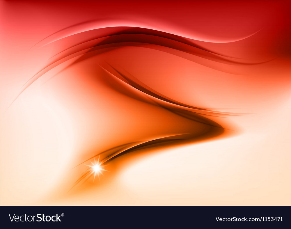 Abstract smoke orange vector | Price: 1 Credit (USD $1)