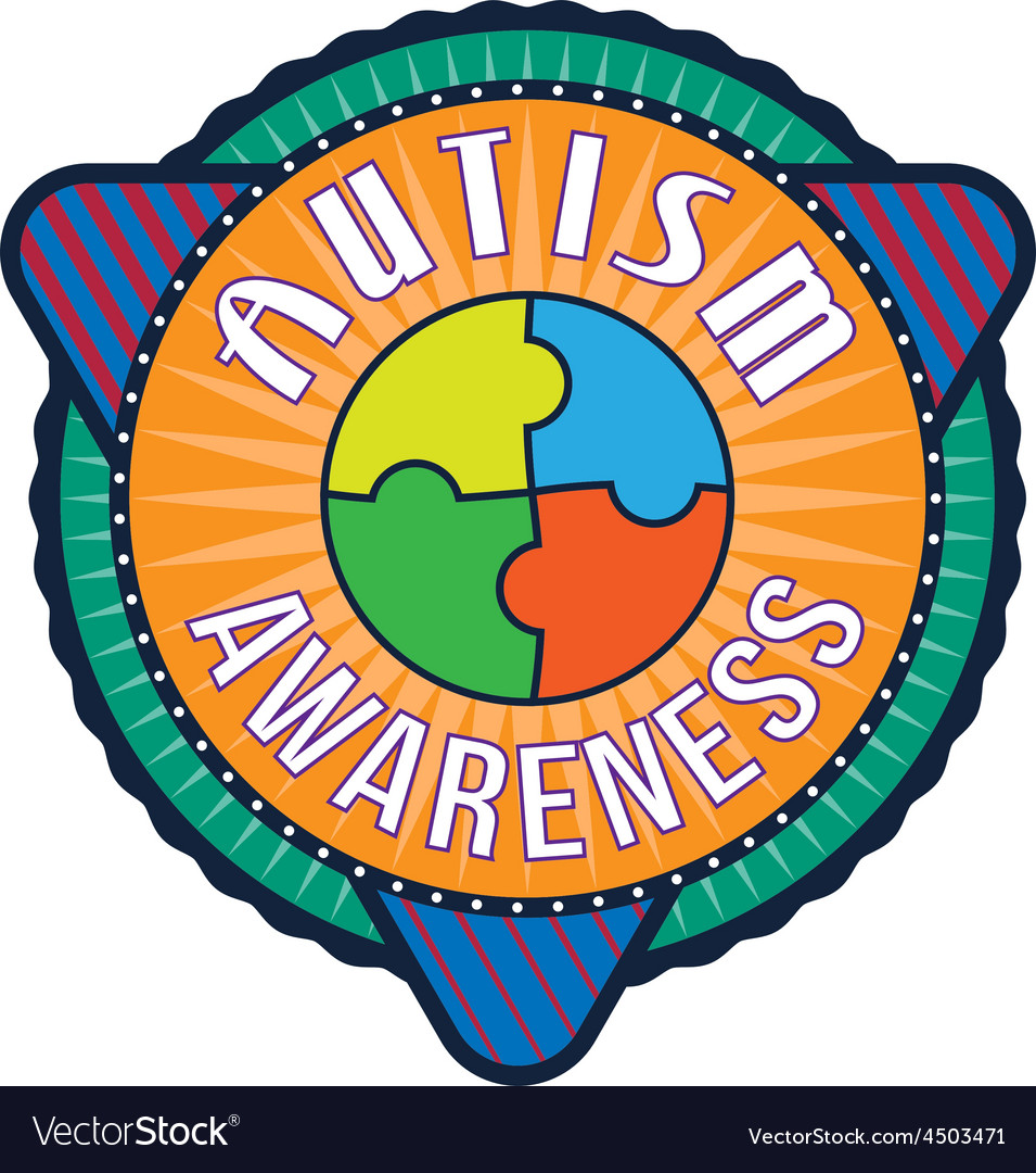 Autism awareness t-shirt typography vector | Price: 1 Credit (USD $1)