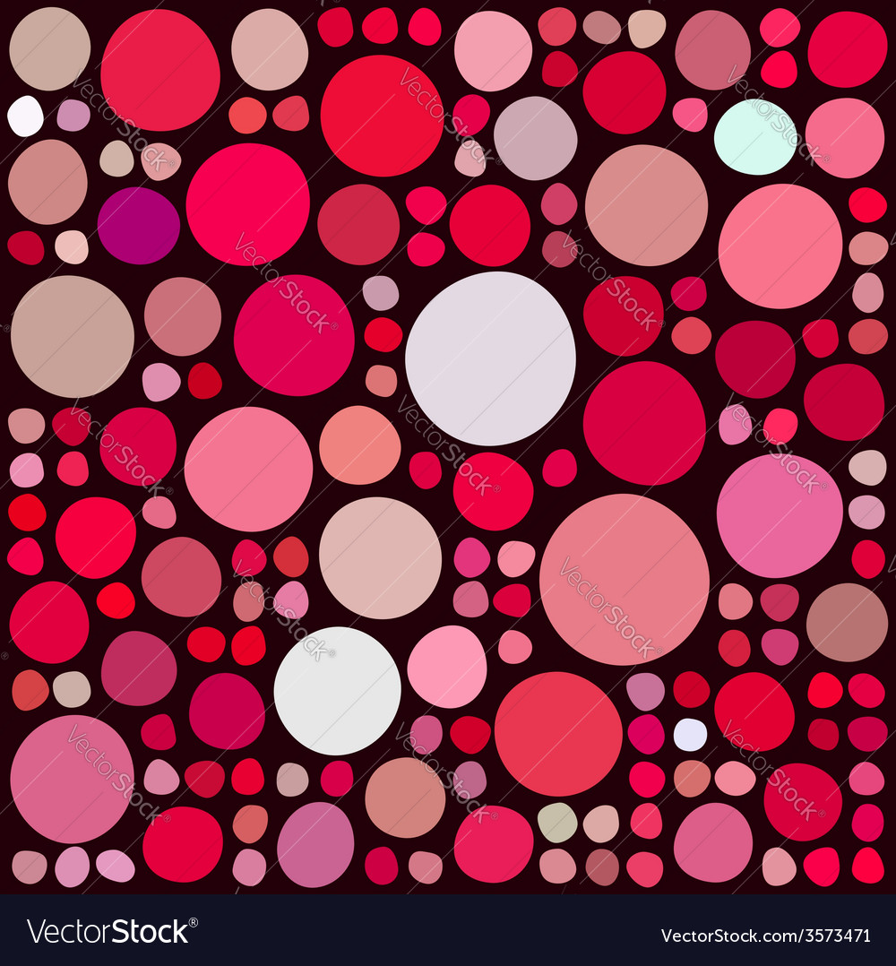 Pattern with random circles vector | Price: 1 Credit (USD $1)