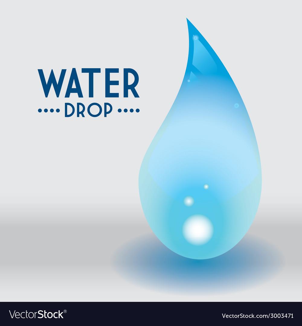 Water drop design vector   Price: 1 Credit (USD $1)