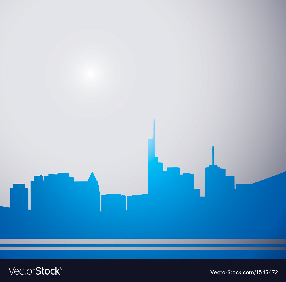City gray vector | Price: 1 Credit (USD $1)