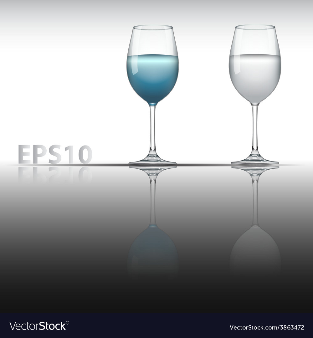 Glass vector | Price: 1 Credit (USD $1)