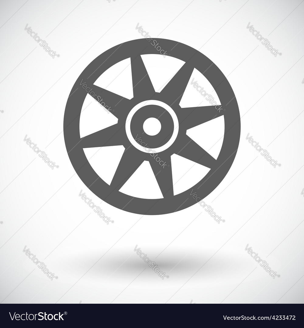 Icon car drive vector | Price: 1 Credit (USD $1)