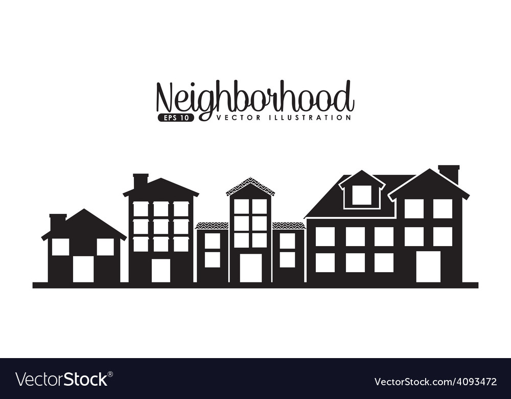 Welcome neighborhood vector | Price: 1 Credit (USD $1)
