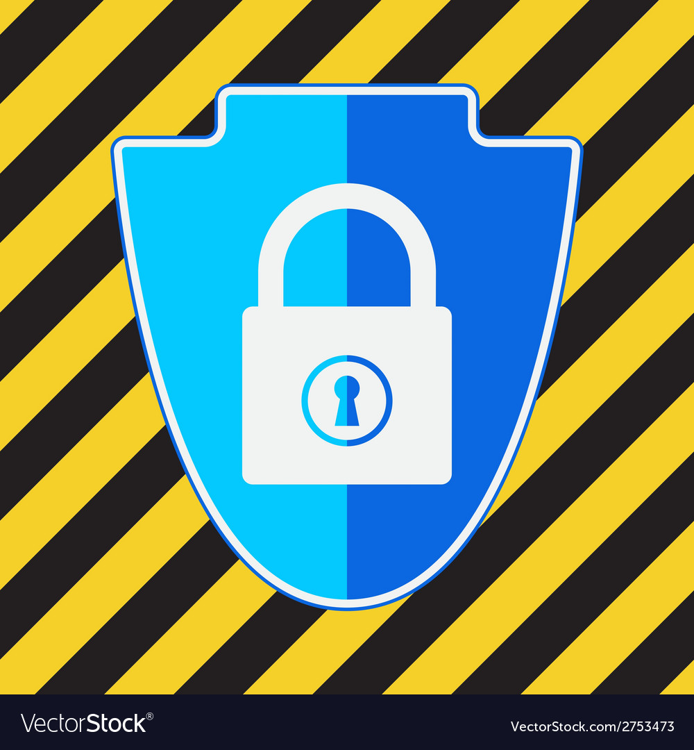 Data protection icon vector | Price: 1 Credit (USD $1)