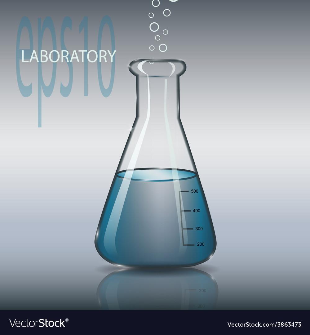Laboratory tube vector | Price: 1 Credit (USD $1)