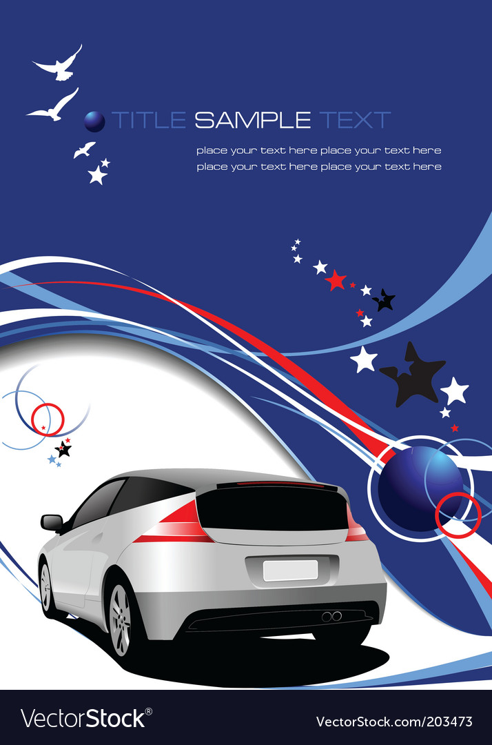 Vehicle template background vector | Price: 1 Credit (USD $1)