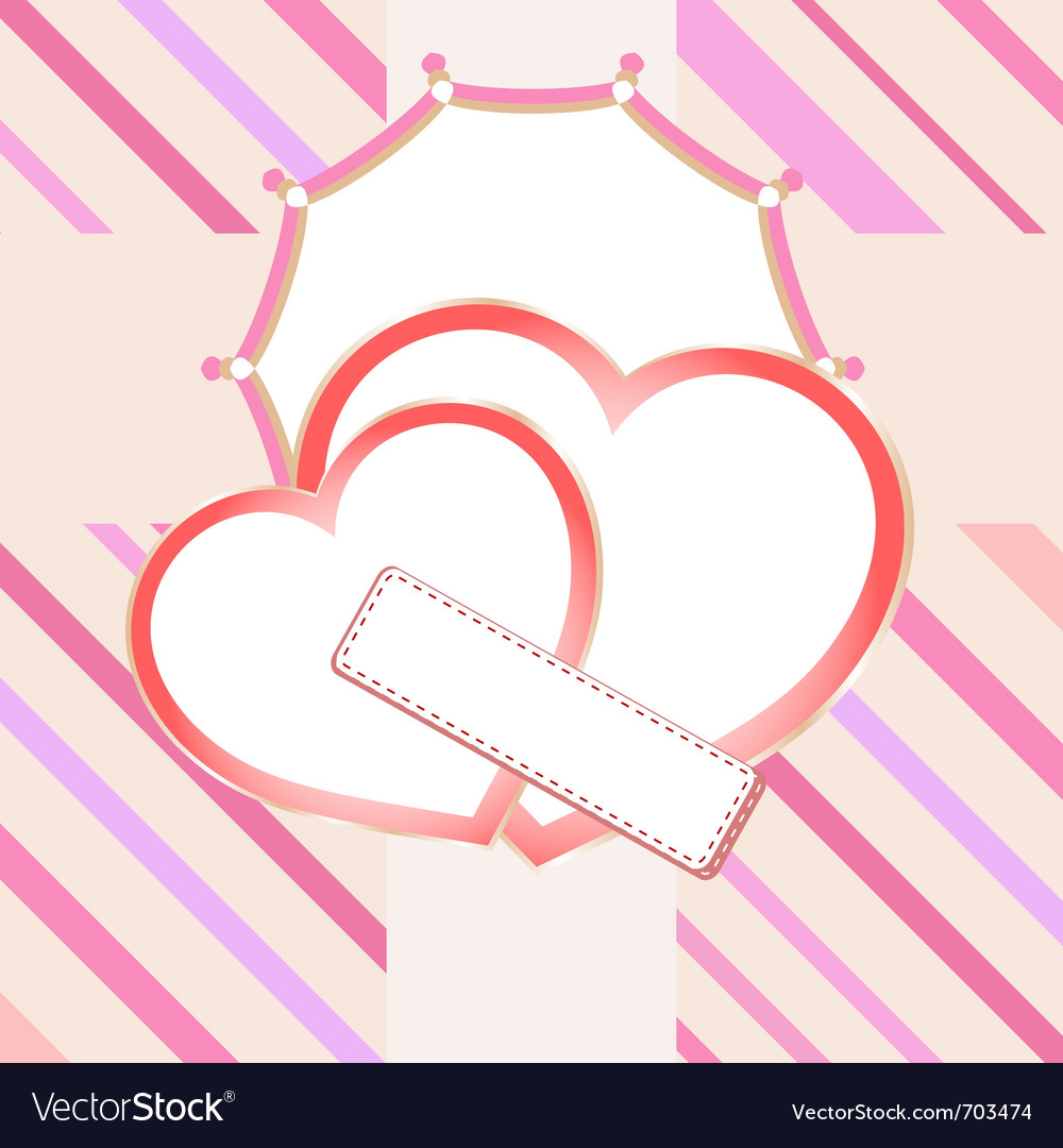 Love heart in bridal vector | Price: 1 Credit (USD $1)