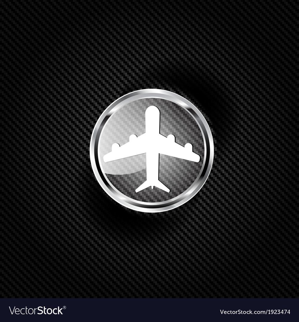 Plane airplane icon vector | Price: 1 Credit (USD $1)