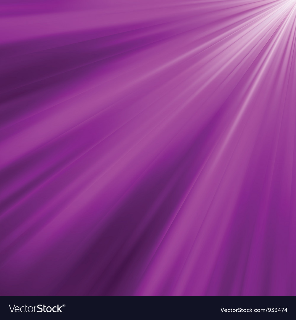 Violet luminous rays background vector | Price: 1 Credit (USD $1)