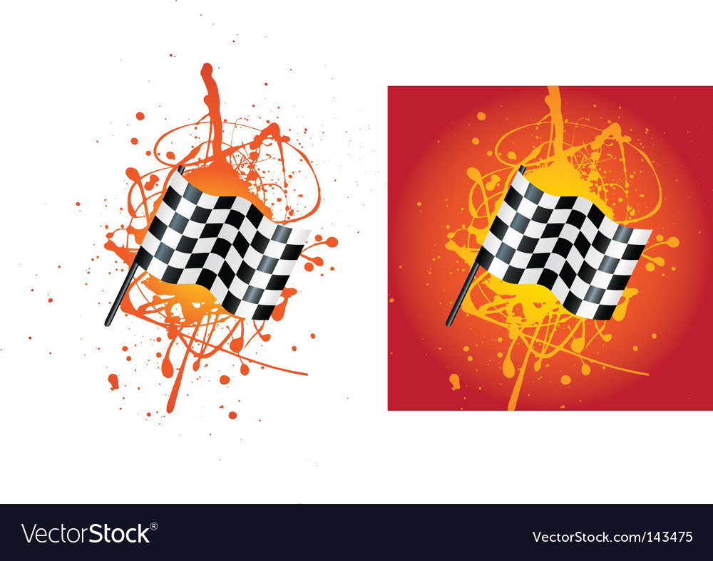 Flag splat vector | Price: 1 Credit (USD $1)
