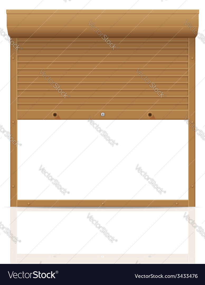 Rolling shutters 10 vector | Price: 1 Credit (USD $1)