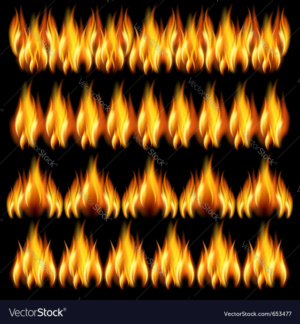 Background with flames vector | Price: 3 Credit (USD $3)