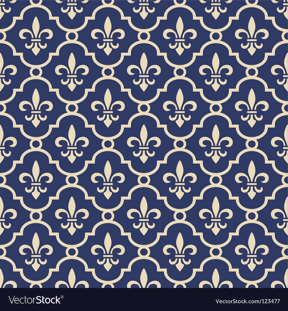 Fleur-de-lis background vector | Price: 1 Credit (USD $1)