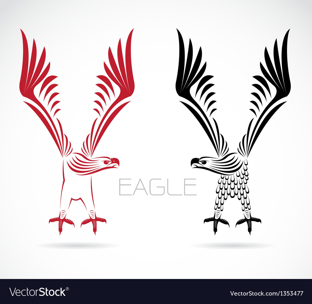 Image of an eagle vector | Price: 1 Credit (USD $1)