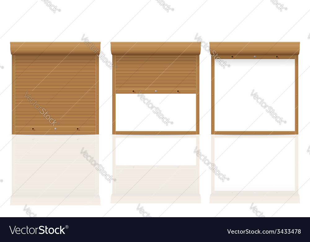 Rolling shutters 12 vector | Price: 1 Credit (USD $1)