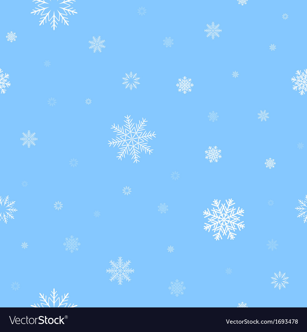 White snow pattern vector | Price: 1 Credit (USD $1)