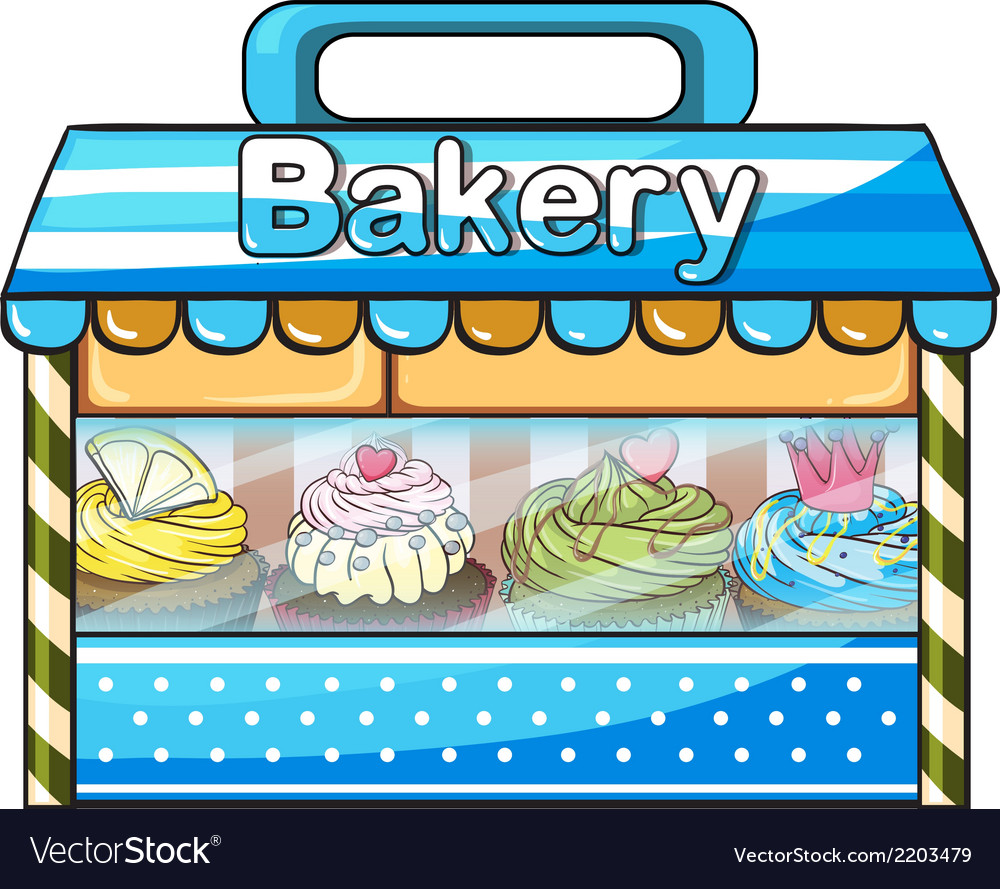 A bakery vector | Price: 1 Credit (USD $1)