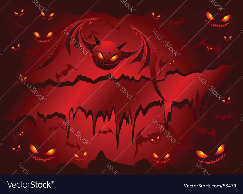 Evil bats vector | Price: 1 Credit (USD $1)
