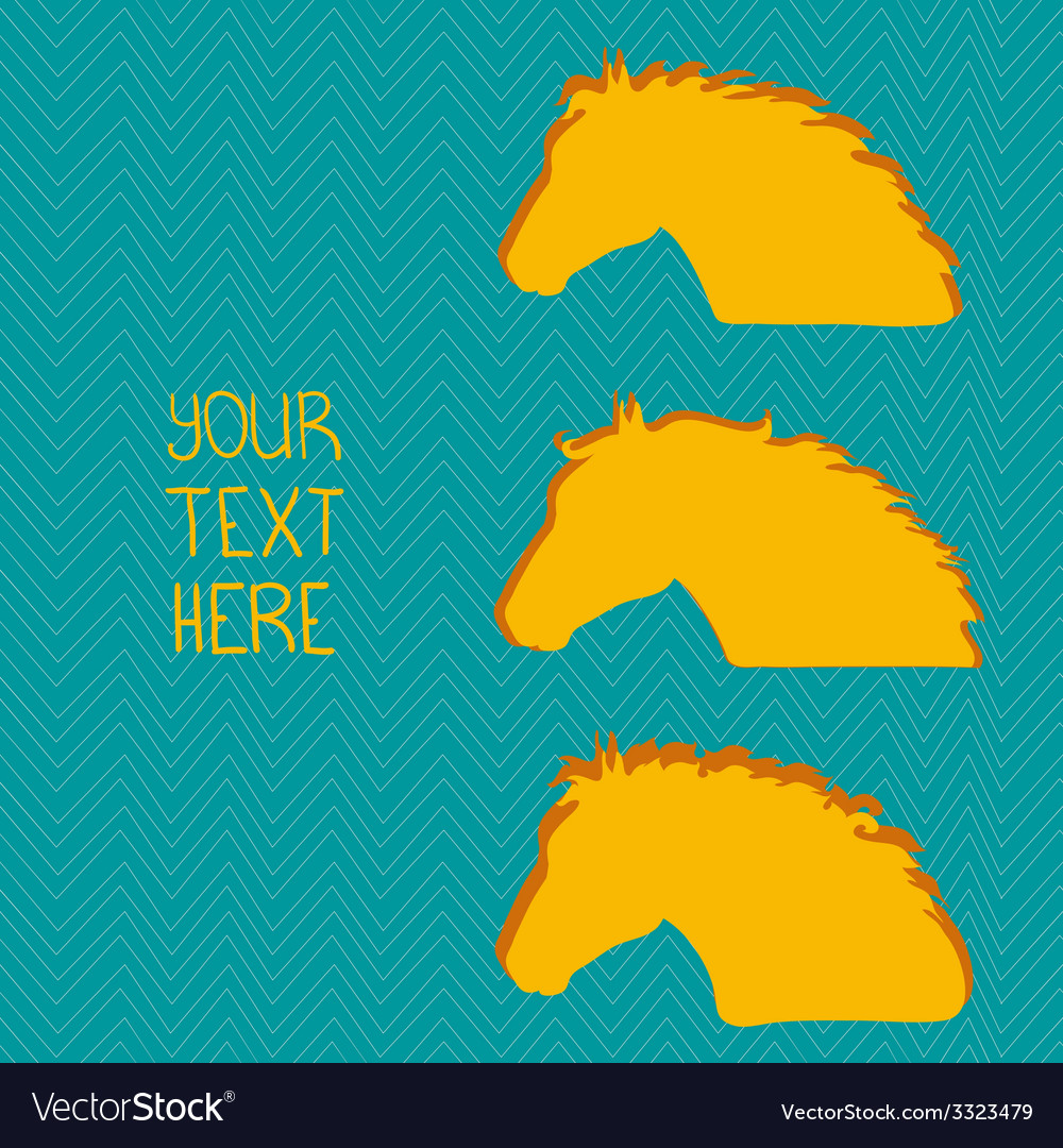 Horsehead7 vector | Price: 1 Credit (USD $1)