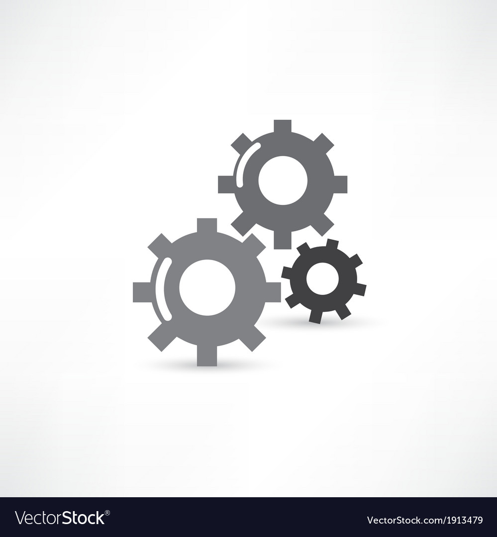 Mechanical icon vector | Price: 1 Credit (USD $1)