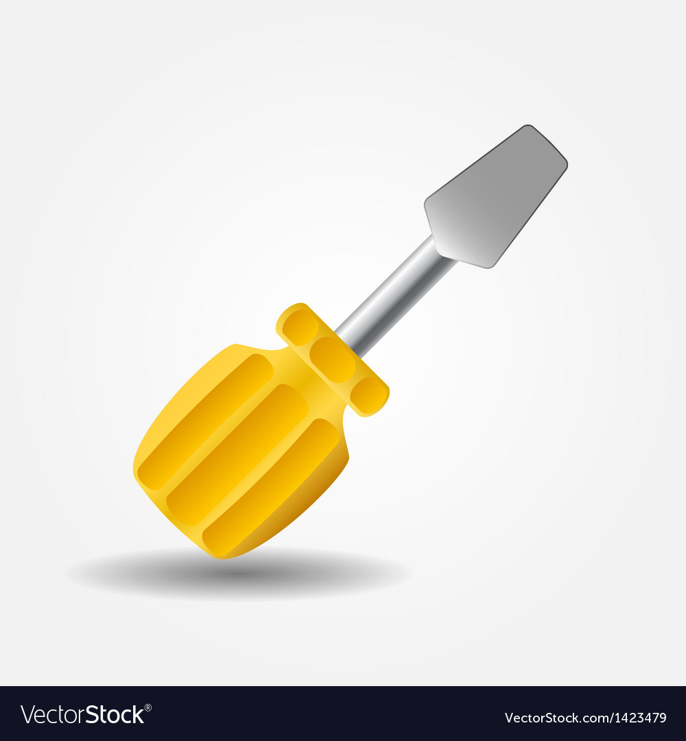 Screwdriver icon vector | Price: 1 Credit (USD $1)