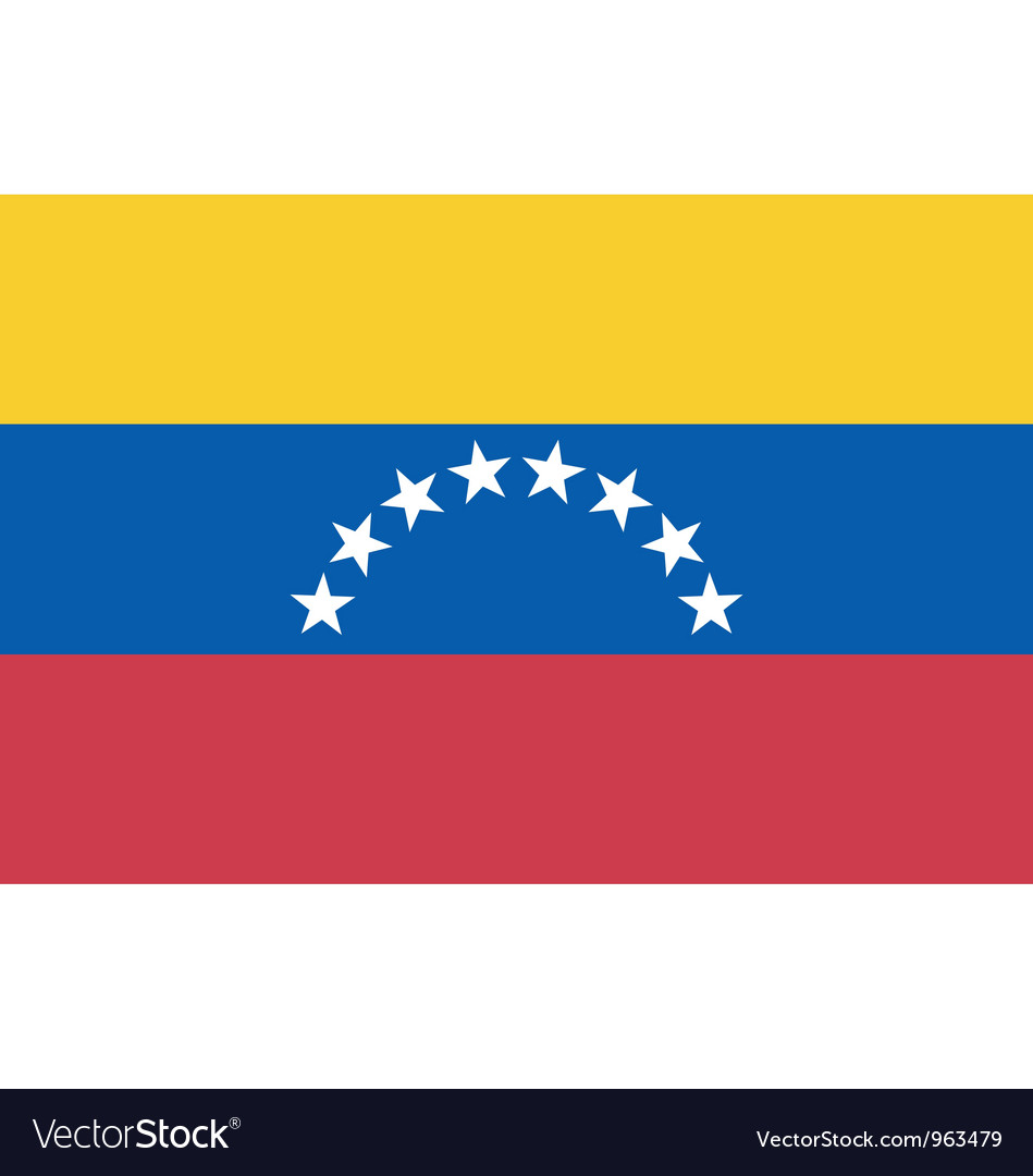 Venezuelan civil flag vector | Price: 1 Credit (USD $1)