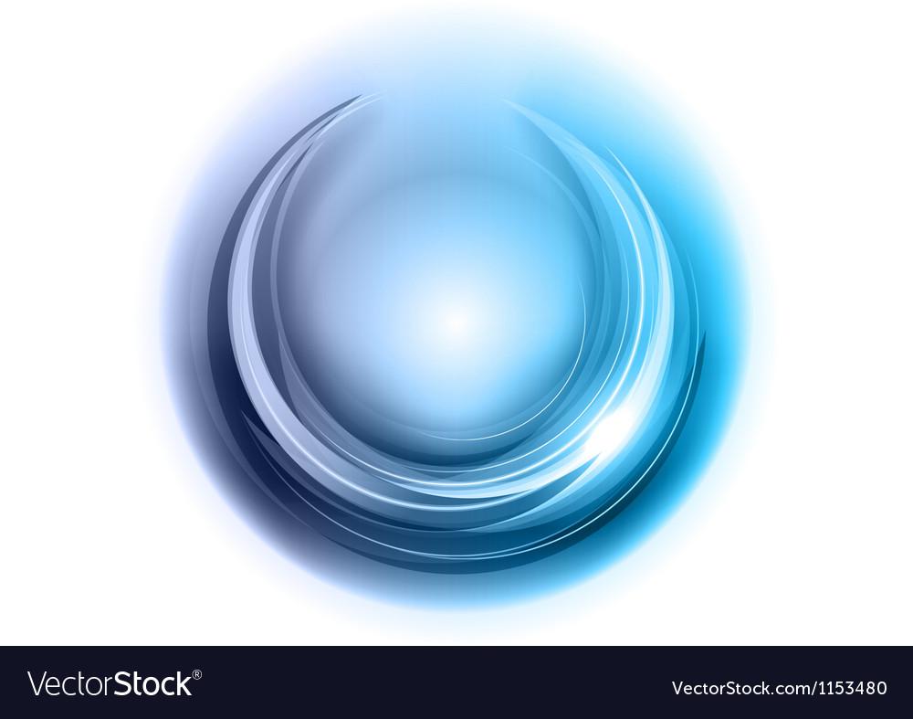 Light round center blue vector | Price: 1 Credit (USD $1)