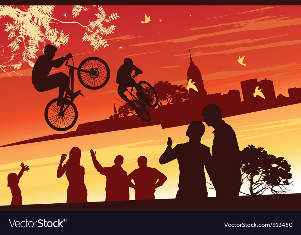 Performance bikes vector | Price: 1 Credit (USD $1)