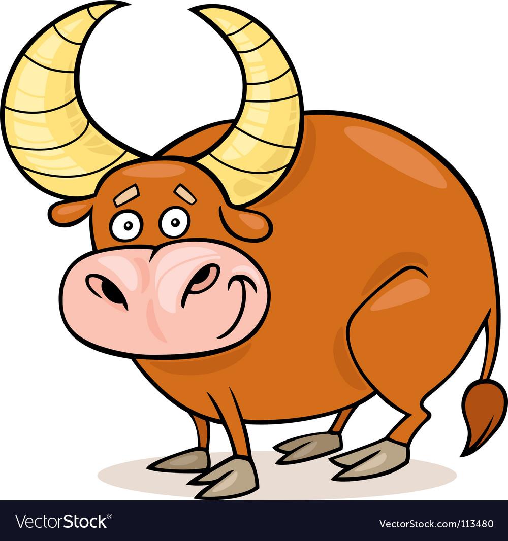 Zodiac taurus vector | Price: 1 Credit (USD $1)