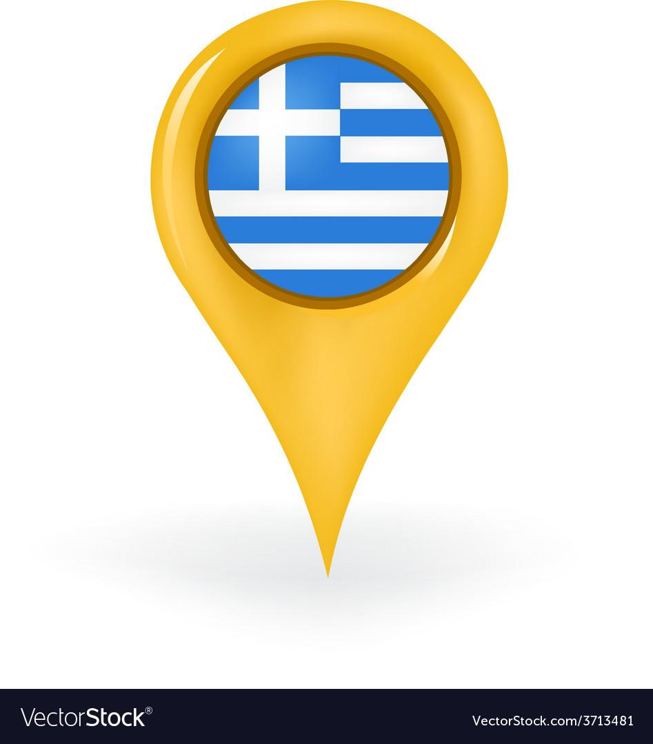 Location greece vector | Price: 1 Credit (USD $1)