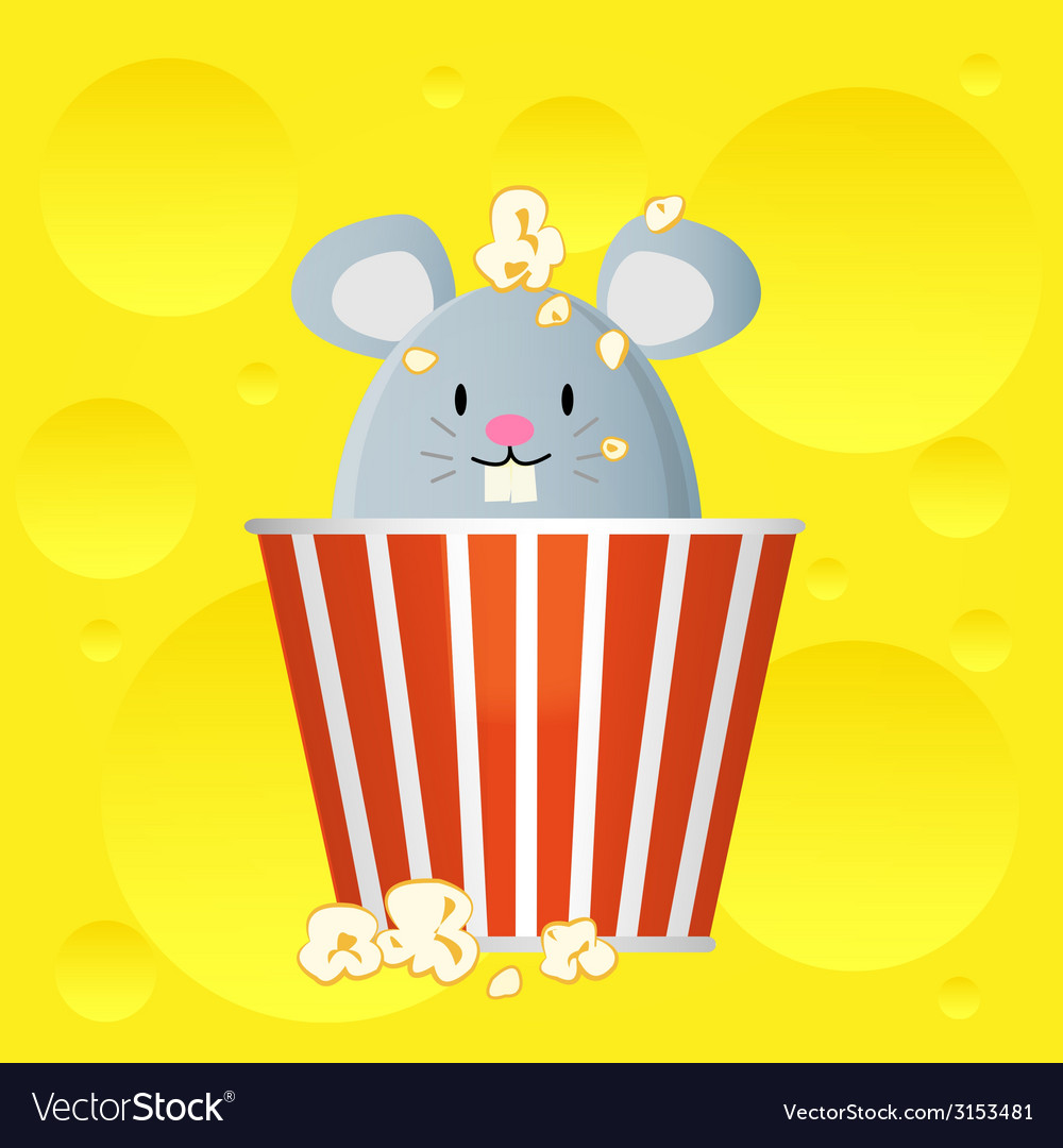 Popcorn cheese vector | Price: 1 Credit (USD $1)