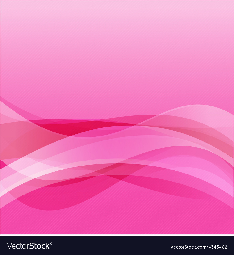Abstract background ligth pink curve and wave vector | Price: 1 Credit (USD $1)